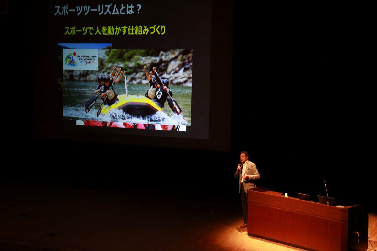 シンポジウム2原田氏 早稲田大学スポーツ科学学術院教授